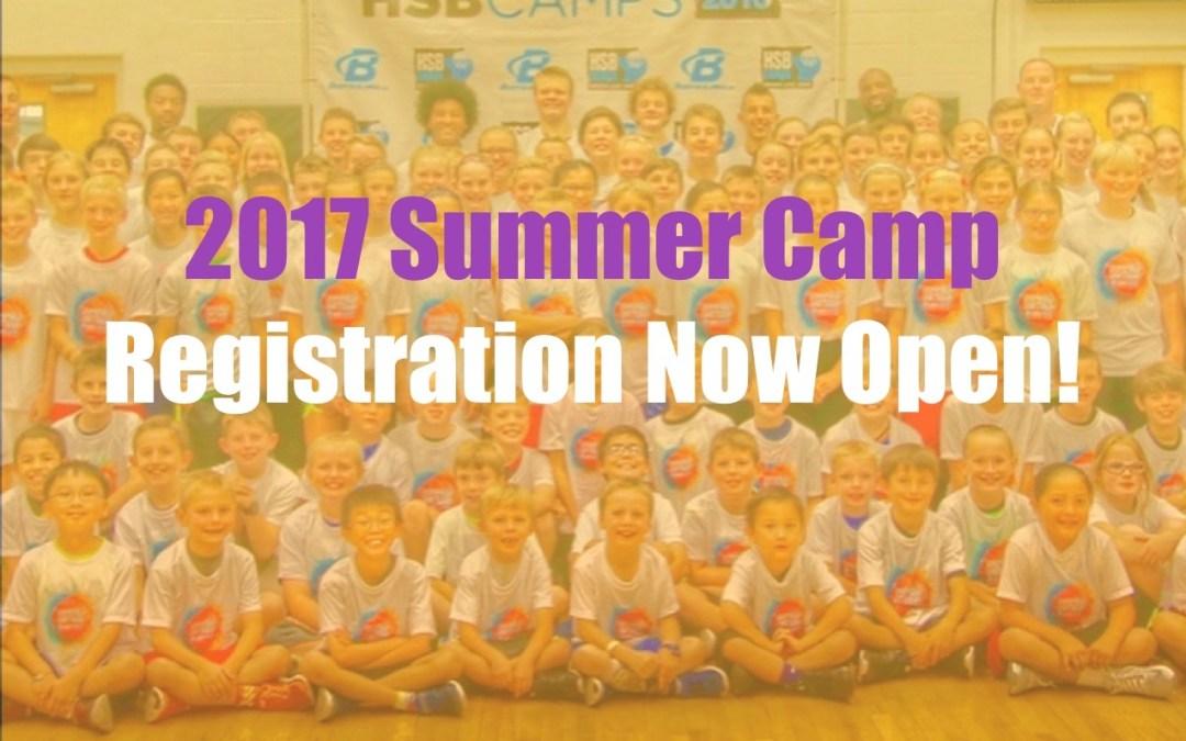 We're Back – 2017 Summer Camp Registration Now Open!