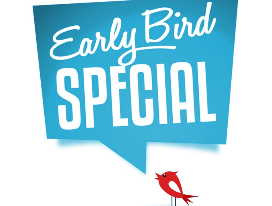 Special Offer – Sign Up Early And Save Big!