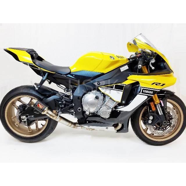 competition werkes yamaha r1 gp race de cat exhaust system 2015 up