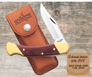 Schrade Knife Special 30% Off