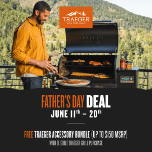 Traeger Father's Day Promotion 2021