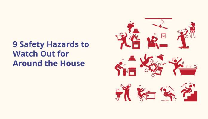 9 Safety Hazards to Watch Out for Around the House
