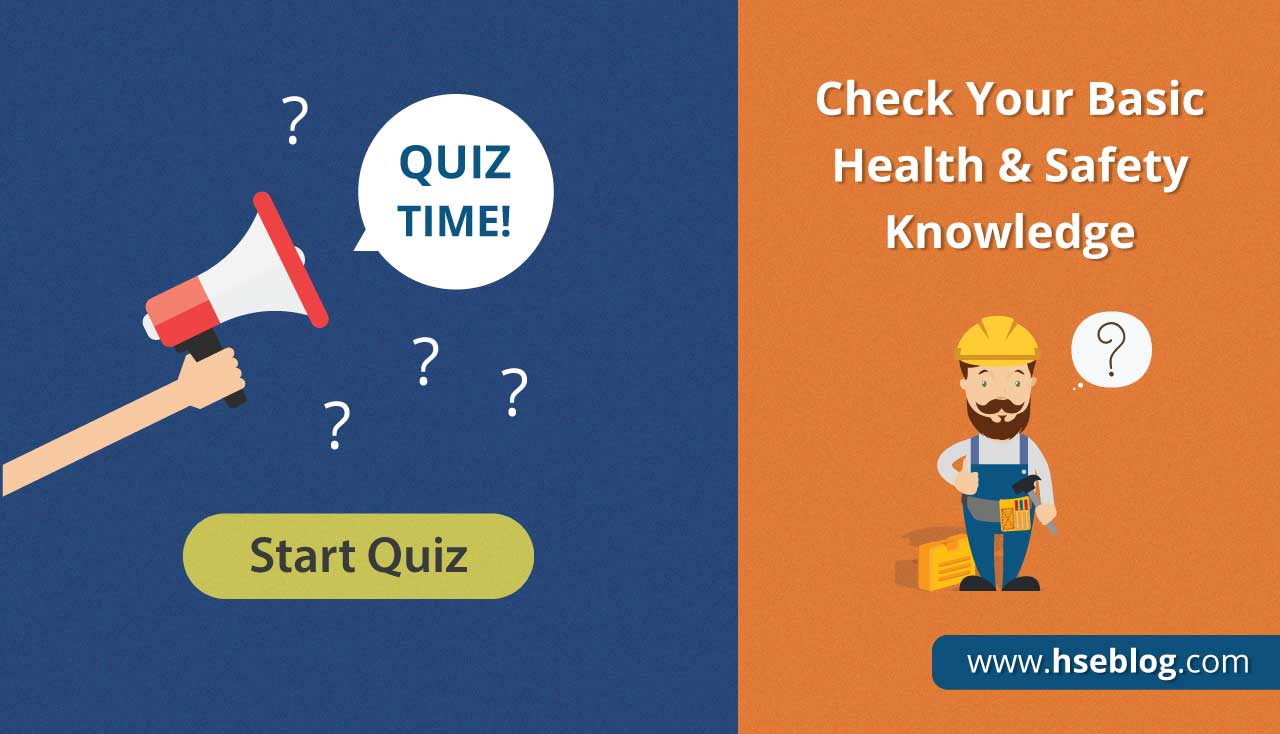 Check Your Basic Health & Safety Knowledge | MCQs Test