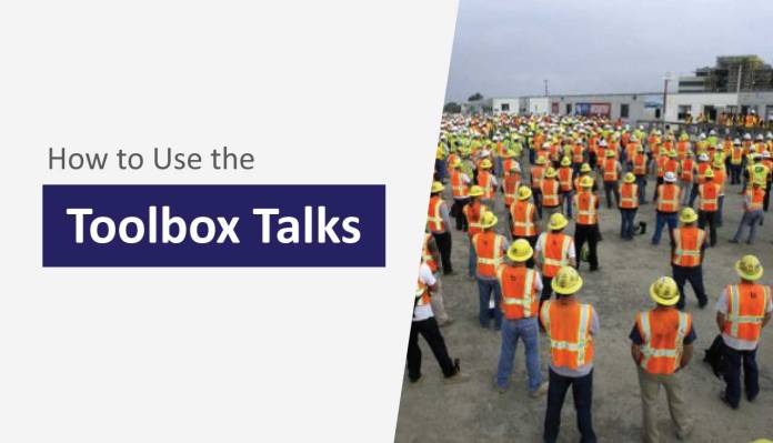 How to Use the Toolbox Talks