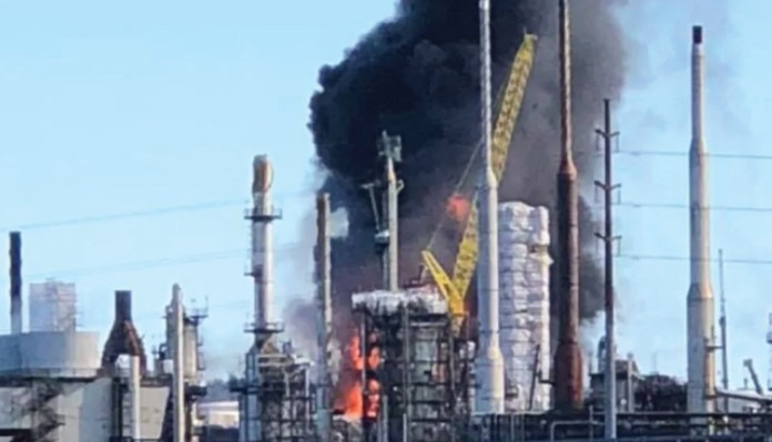 Explosion, Fire Reported At Saint John Oil Refinery