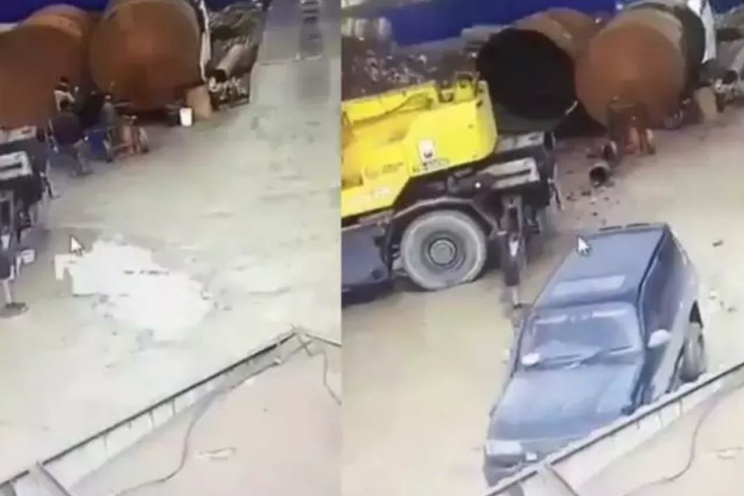 Tank Explodes While Welding
