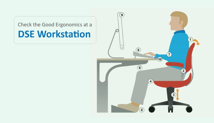 The Good Ergonomics Requirements At A DSE Workstation