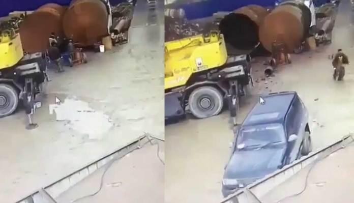 The Tank Explodes While Welding