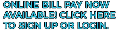 Online bill pay now available