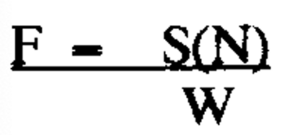 Supported Equipment design factor equation