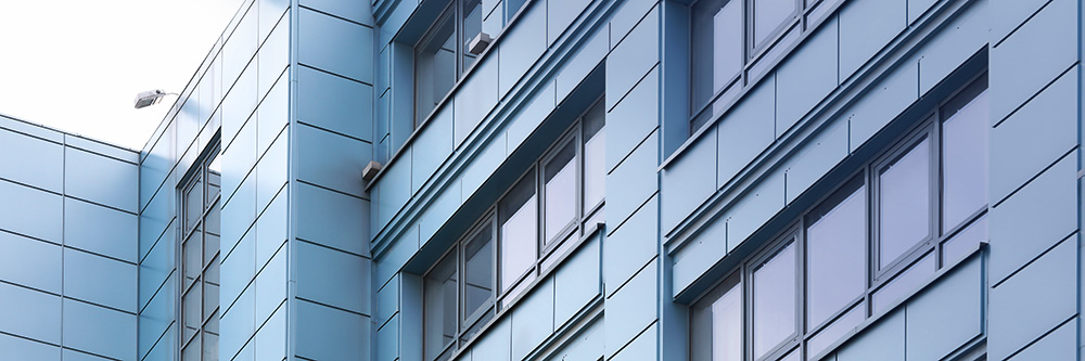 Aluminum exterior surfaces require maintenance and protection.