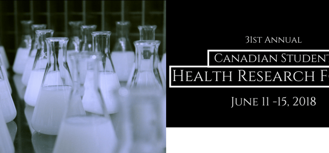 Canadian Student Health Research Forum (CSHRF)