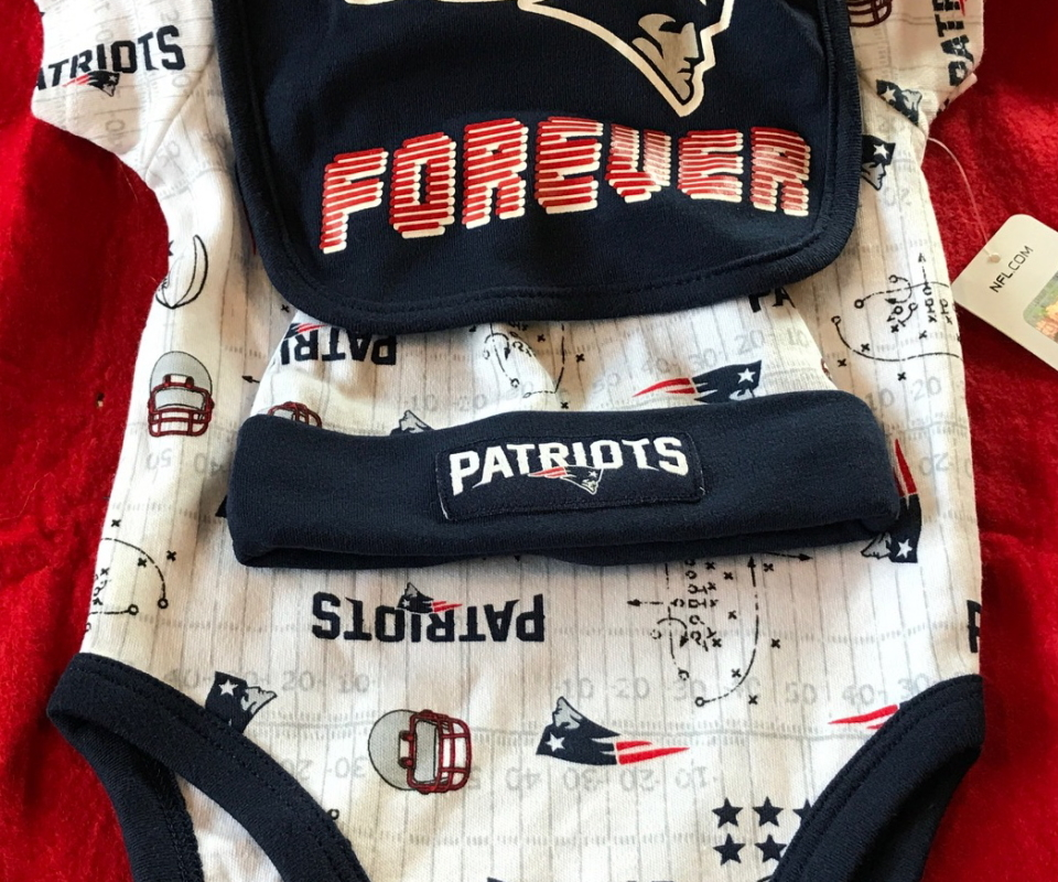 los angeles 26a12 1ef87 New England Patriots Infant & Toddler Apparel | Holyoke ...