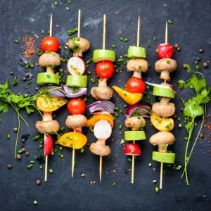 Veggie skewers