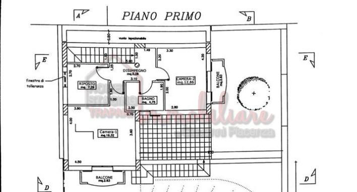 Piano Primo Villetta