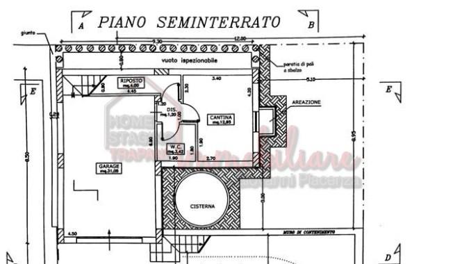 Seminterrato Villetta