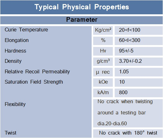 Flexible-Typical-Physical-Properties