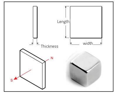 neodymium cube magnets