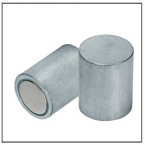 neodymium deep pot magnet steel body