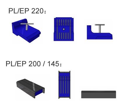 Polyurethane Magnetic Holding Shuttering Magnets