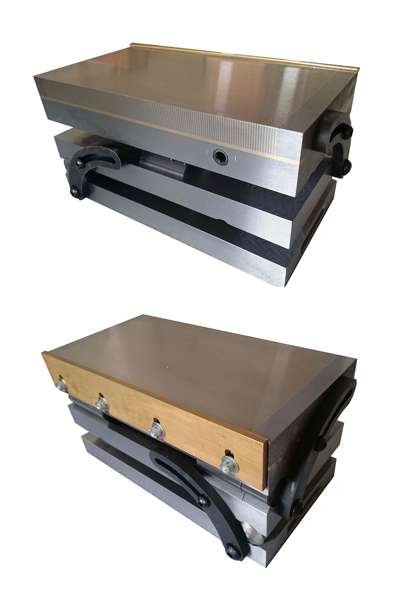 Magnetic Chuck Supplier Magnets By Hsmag Wiring Diagram Double Sine Plate Permanent Mcc Series