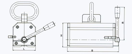 magnetic-lifter-e-series-drawing