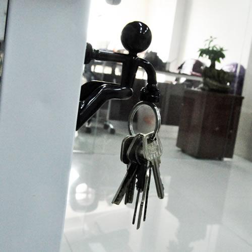 ... Black KEY PETE Strong Magnetic Key Holder Hook Rack