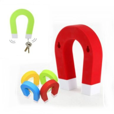 U-shaped Magnetic Key Holder Chain Hanging Hook