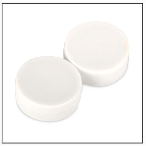 3-4″-dia-x-3-8″-thick-disc-plastic-coated-white-neodymium-magnet