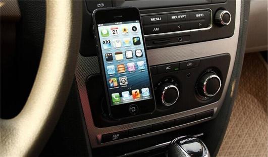 car holder ventilation for mobile phone