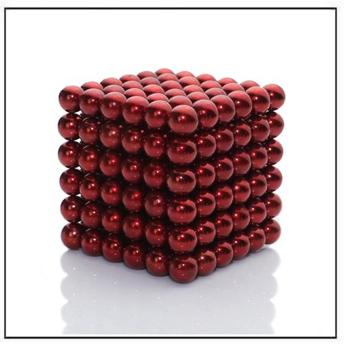 216pcs Ø 5mm Red Magnetic Balls Zen Magnets
