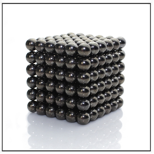 Metallic Black Zen Magnets