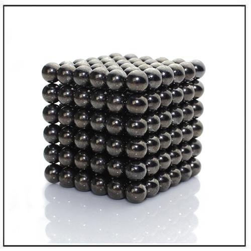 Metallic Black Zen Magnets