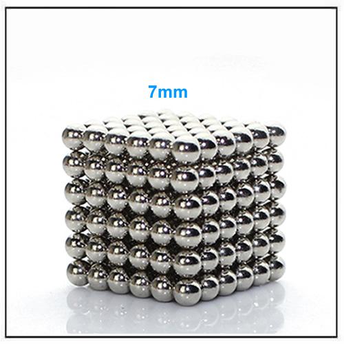 Nanodots 7mm Neodymium Magnet Spheres Precision