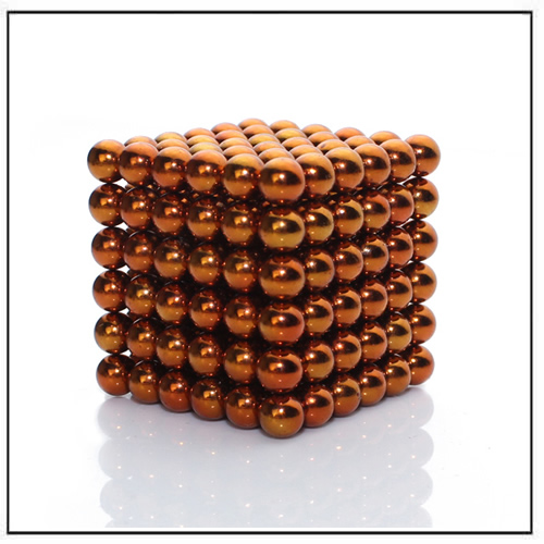 Orange Buckyballs Construction Puzzle Toy Ø 5mm Dia