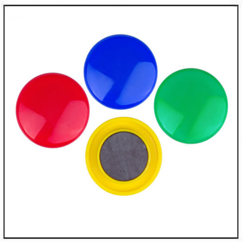Plastic Round Presentation Whiteboard Magnetic Button