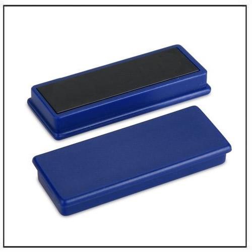Refrigerator Fridge Whiteboard Ferrite Magnetic Bar Blue