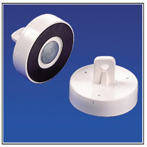 Round Ceiling Magnets with Plastic Body, Eyelet