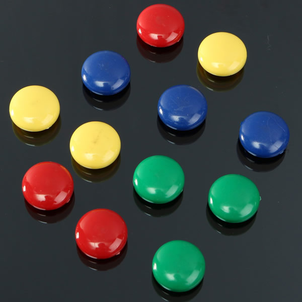 Notice Whiteboard Round Magnetic Button Magnets By Hsmag