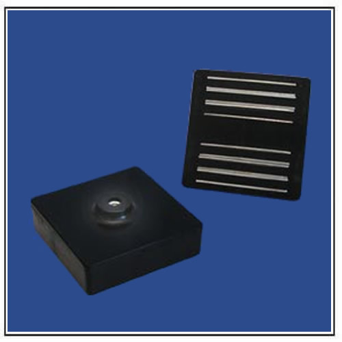 Square Ceiling Magnets with Internal Thread