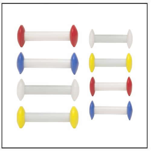 Circulus Stir Bars Barbell-shaped PTFE