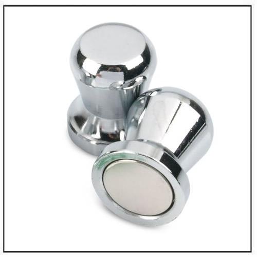 Silver Super Strong Neodymium Skittle Magnets Ø20 x 24mm