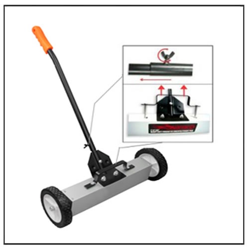 24 inch Handle-Type Magnetic Sweeper