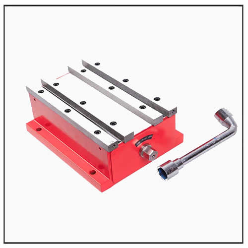magnetic workholding vise