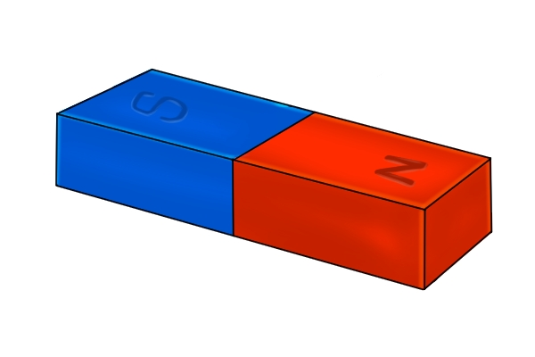 Blue And Red Rectangle Bar Magnet Magnets By Hsmag