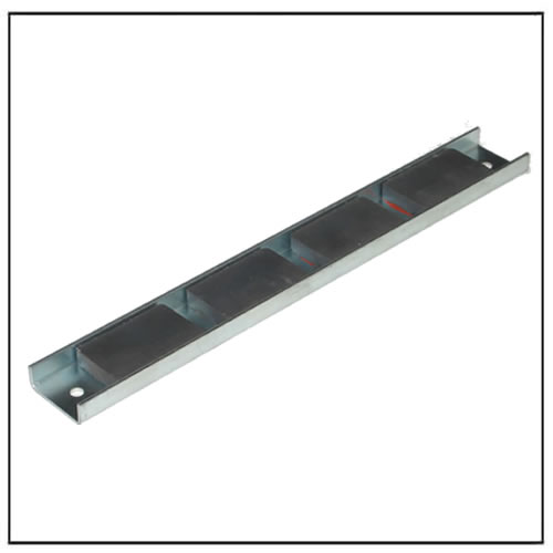 channel assembly ferrite magnet