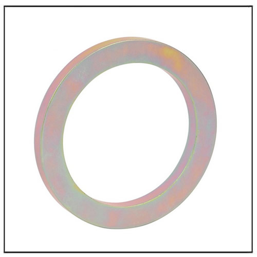 Color Zinc Plating Sintered NdFeB Ring Magnet