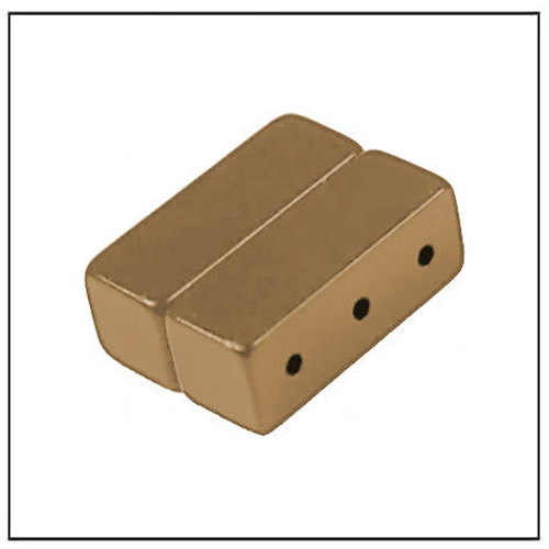 Copper Coating NdFeB Magnets Block