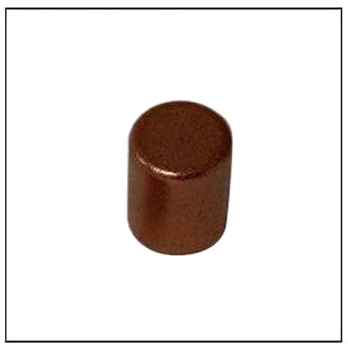 Cu Coating Neodymium Magnets Cylinder