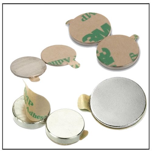 3M Adhesive Disc Neodymium Magnets